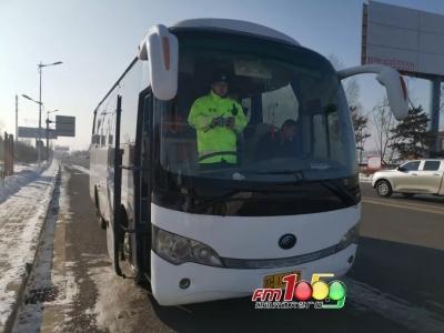 延吉交警设置3处春运安全检查服务站