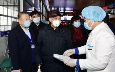 姜治莹到延吉市检查新型冠状病毒感染的肺炎疫情防控工作