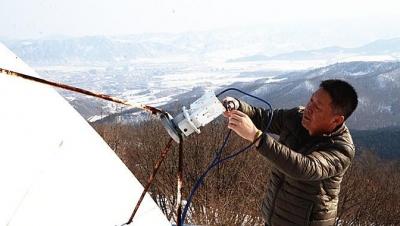 新春走基层丨他们在艰苦的寒山之巅守护着灵动的电波