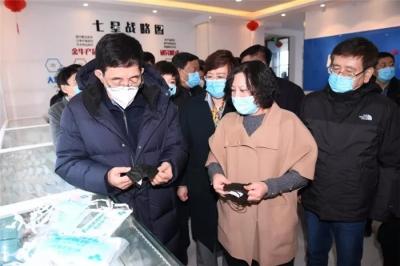 大年初二巴音朝鲁在吉林市、长春市检查新冠肺炎疫情防控工作