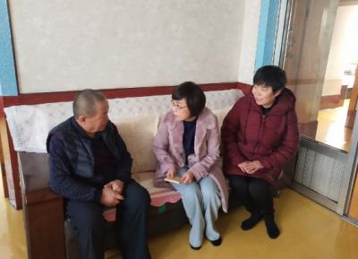 """文化街道文慧社区党总支""""新春送祝福·关爱暖民心"""""""