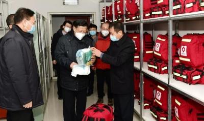 姜治莹到和龙市检查新型冠状病毒感染的肺炎疫情防控工作