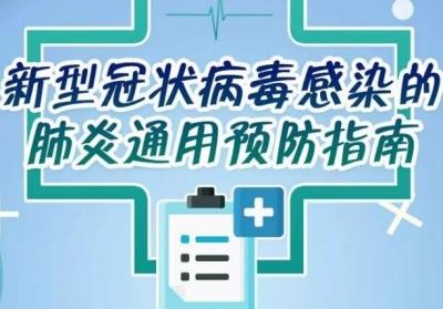 【新型冠状病毒科普知识】六大公众预防指南,请务必认真学习!