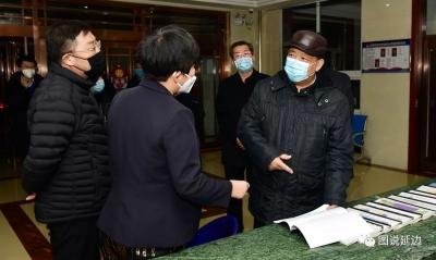 姜治莹到和龙市检查疫情防控工作