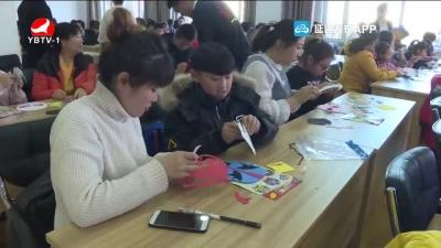 和龙市图书馆举办京剧脸谱文化传承及手工制作活动