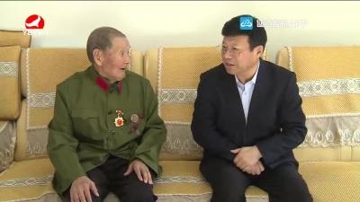 韓興海走訪慰問老黨員和生活困難群眾