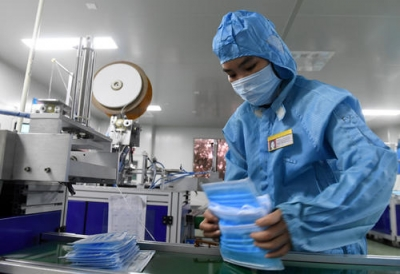 龙井市人民政府关于免费发放医用口罩的通知
