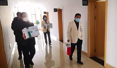 团州委、州青联第二批募集物资已送至各县市一线防疫点