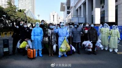 好消息!武漢方艙醫院首次單日出院人數破百
