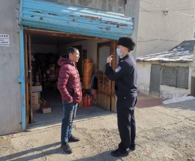 吉林延边边境管理支队南山派出所多项措施开展疫情防控工作