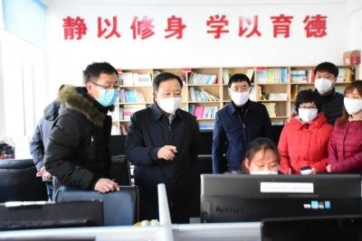 金寿浩到龙井市就境外疫情输入防控和复产复工情况进行调研
