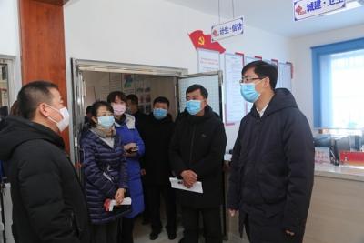 延吉市各基层党组织和党员干部冲锋在防控疫情第一线