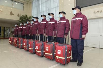 吉林省支援湖北第三批防疫队奔赴前线