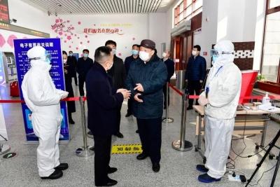 姜治莹到延吉西站、延吉朝阳川国际机场检查指导疫情防控工作