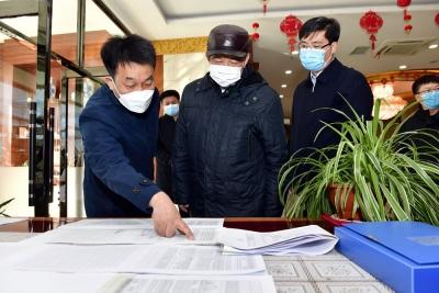 姜治莹到延吉市调研境外疫情输入防控工作