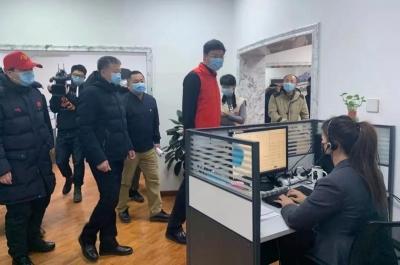 【疫情防控】共青团吉林省委领导到省12320疫情举报受理热线慰问志愿者