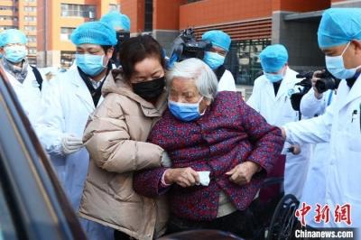 90歲!江西省最大年紀新冠肺炎患者治愈出院