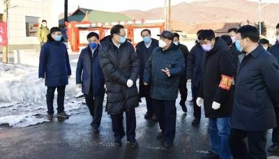 江泽林到我州指导督导新型冠状病毒感染的肺炎疫情防控工作
