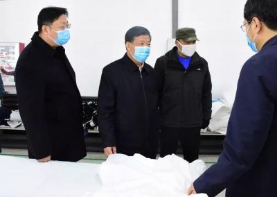 姜治莹到龙井市、州交通运输系统调研疫情防控工作