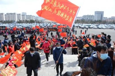 延边州驰援武汉医疗队胜利凯旋 金寿浩出席胜利凯旋欢迎仪式
