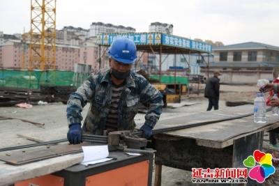 """延吉项目建设忙 本月14个""""三早""""新建项目陆续开工"""