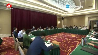 吉林代表团传达学习习近平总书记在湖北代表团审议时的重要讲话精神