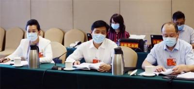 吉林省代表团分组审议民法典草案 巴音朝鲁景俊海参加审议