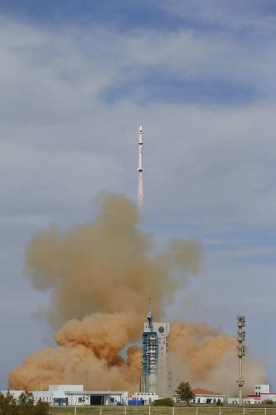 一箭双星!高分九号02星、和德四号卫星发射成功