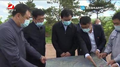田锦尘到汪清县督导检查疫情防控和经济社会发展工作