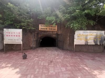 汪清:河西村防空洞对外开放