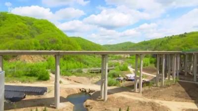 龙蒲高速公路项目敦化段预计7月上旬完工