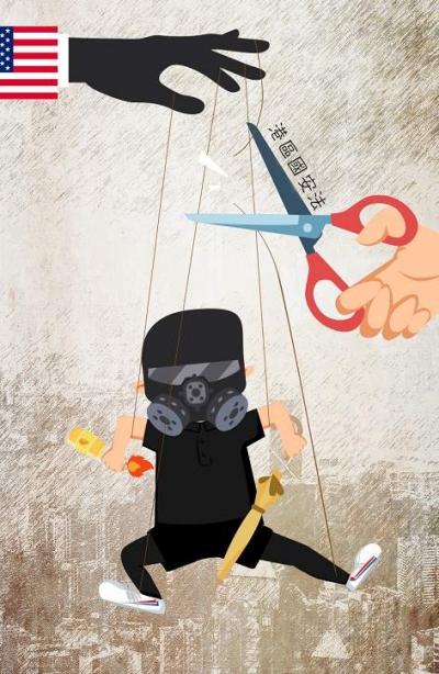 呼吁外国制裁香港,乱港分子奴相毕露