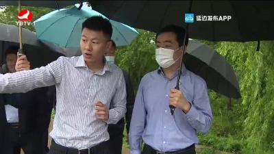 田锦尘到延吉龙井调研农业农村工作
