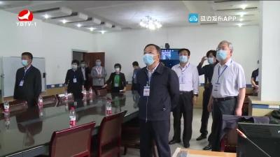 金寿浩在延吉调研高考情况