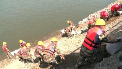 珲春市交通运输局开展国道路基水毁抢险应急演练
