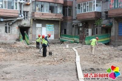 """延吉市新兴街道开启""""创城""""加速度 决战""""百日攻坚"""""""