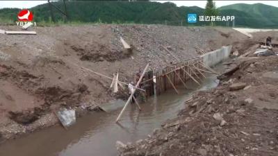 大兴沟镇:修复水毁堤防 确保安全度汛