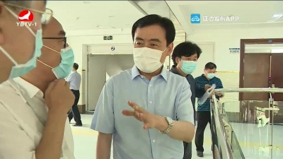 田锦尘到延边二中调研检查高考准备和疫情防控工作