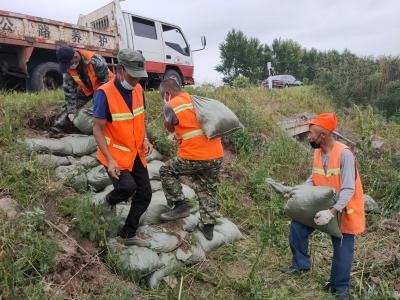 和龙兴和公路养护公司扎实做好防汛工作确保安全度汛