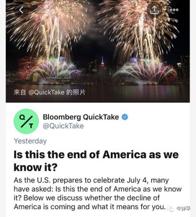 这是美国最坏的情况,美国人很感慨!