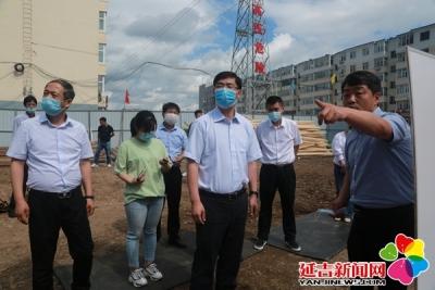 洪庆检查延吉市防汛抗旱及河长制工作