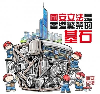 香港国安法,谁爱又谁怕?