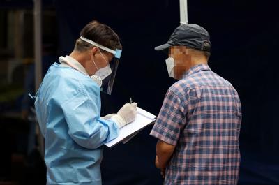 韩国单日新增病例连续两天破百 首尔京畿道创新高