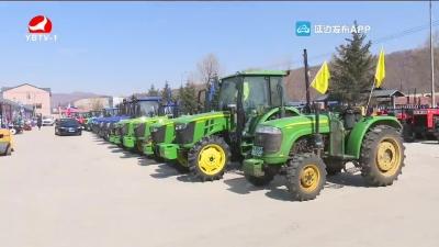 今年我州已落实农机购置补贴资金4300多万元