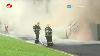州暨敦化市醫藥生產企業危險化學品泄露火災事故應急救援演練舉行