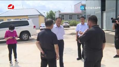 金寿浩在安图调研基层党组织建设情况并参加党支部工作联系点活动