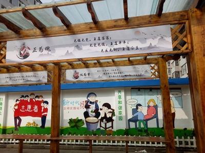 敦化市南湖社区打造红色教育新阵地