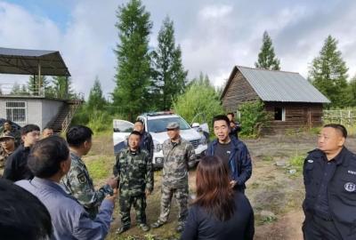 学术专家被困深山,安图百人23小时紧急搜救