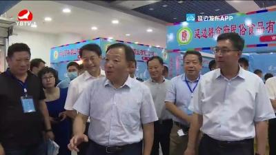 金寿浩调研全州地产品展销活动筹备情况