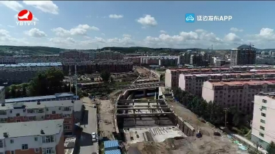 延吉市局子街下穿长图线公铁立交桥工程预计10月底通车